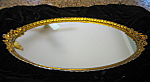 Vintage Matson Mirrored Tray