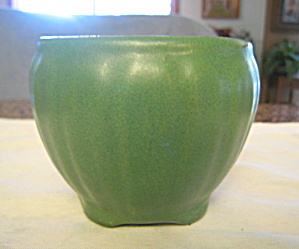 Arts & Crafts Vase Matte Green