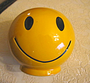 Mccoy Happy Face Vintage Bank