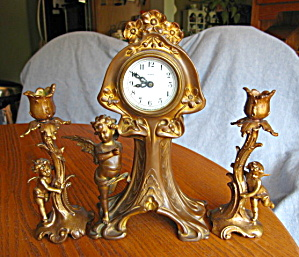New Haven Mantle Clock Set Falmouth
