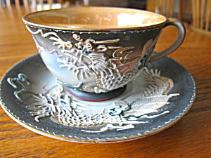 Occupied Japan Dragonware Lustre Teacup