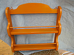 Retro Recycled Spice Rack