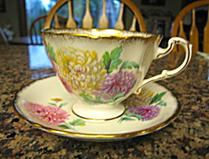 Paragon Flower Teacup Vintage