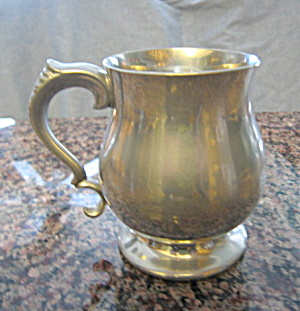 Vintage English Pewter Mug