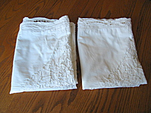 Large Vintage Pillow Cases