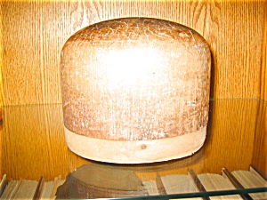 Antique Wooden Hat Mold