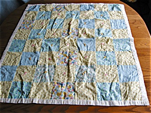 Small Doll Crib Quilt