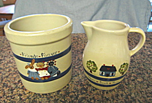 Ransbottom Hand Painted Stoneware