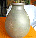 Redware Ovoid Jar