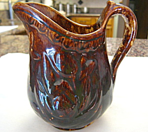 Antique Rockingham Pitcher