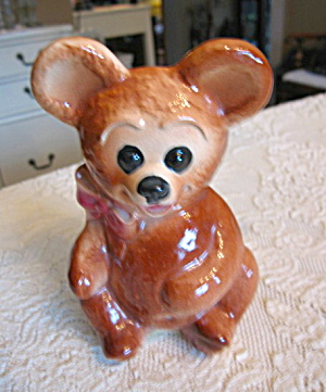 Royal Copley Bear Planter