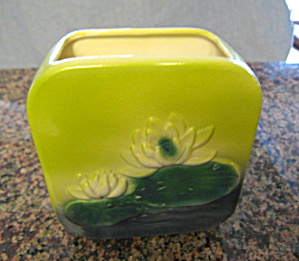 Royal Copley Waterlilly Planter Vase