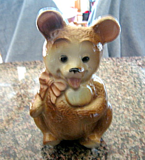 Vintage Royal Copley Bear Planter