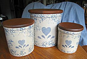 Ransbottom Spongeware Crocks