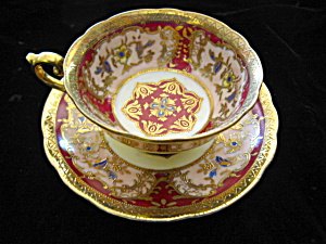 Saji Fancy China Teacup