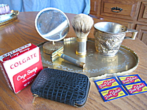 Manly Vintage Shaving Accessories