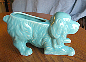 Shawnee Pottery Retriever Planter Vintage