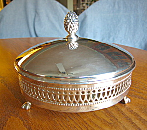 Sheffield Silverplate Relish Dish
