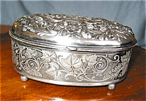 Vintage Silverplate Box