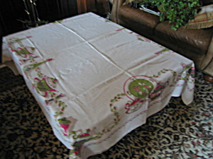 Tablecloth Vintage Rectangular