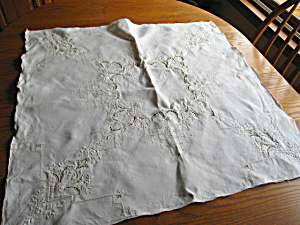 Vintage Table Linen Square