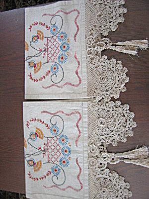 Large Table Runners Vintage