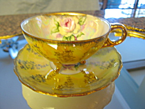 Royal Sealy Footed Rose Teacup