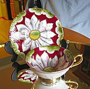 Occupied Japan Pedestal Teacup