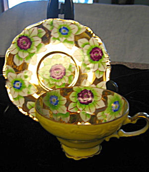 Occupied Japan Teacup Trimont