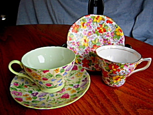 Rosina And Shelley Teacups