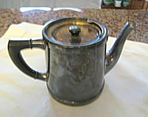 Antique Indestructo Individual Teapot