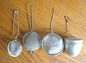 Four Cool Tea Strainers