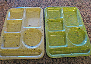 Vintage Texas Ware Snack Trays