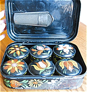 Toleware Antique Spice Set
