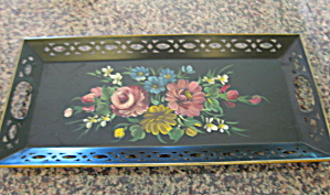 Vintage Painted Metal Tray Nashco