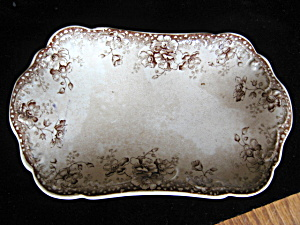 Antique Staffordshire Transferware Tray