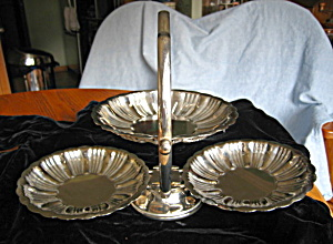 Silverplate Tidbit Tray