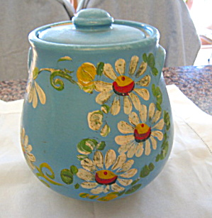 Vintage Blue Uhl Ransberg Cookie Jar