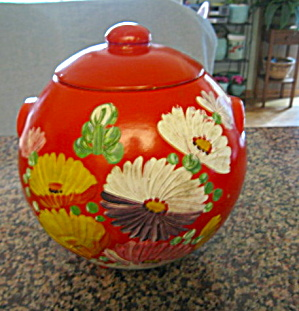 Vintage Uhl Pottery Cookie Jar