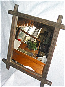 Victorian Framed Mirror