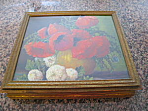 Vintage Box Poppies