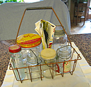 Cool Jars And Milk Bottle Carrier