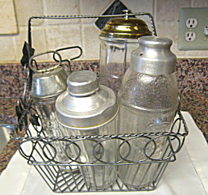 Retro Kitchen Vintage Mixer Bottles