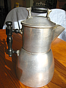 Patented Antique Wear-ever Drip Coffeepot