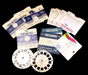19 Vintage Sawyer Viewmaster Reels Lassie Red Riding Hood Casper