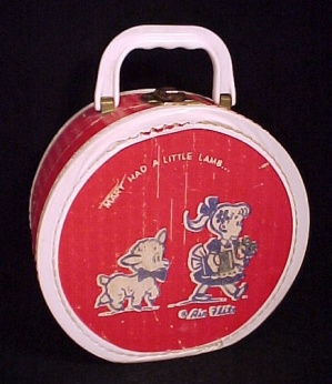 Air Flite Kids Suitcase Doll Clothes Case Bag Mary Had A Little Lamb
