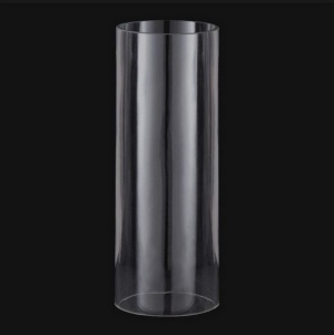 Cylinder 4 X 7 Tube As Is Candle Holder Light Lamp Shade Glass