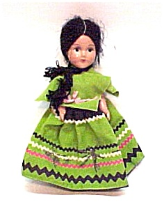 Composition Doll Spanish Mexican Peasant Girl