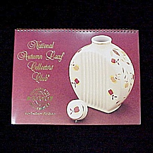 Autumn Leaf Jewel T Tea Hall China Nalcc 2000 Calendar Collectors Ed