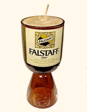 Falstaff Brewery Candle No Deposit No Return Bottle